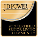 J.D. Power Award for Outstanding Senior Living Community Experience