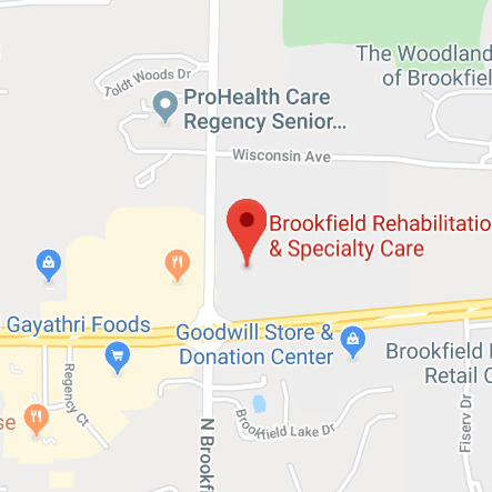 Brookfield Map