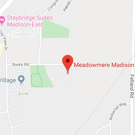 Meadowmere Madison Map