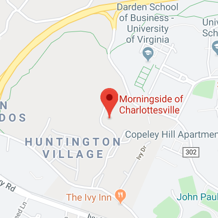 Morningside Charlottesville Map