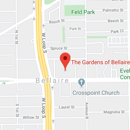 Gardens of Bellaire Map
