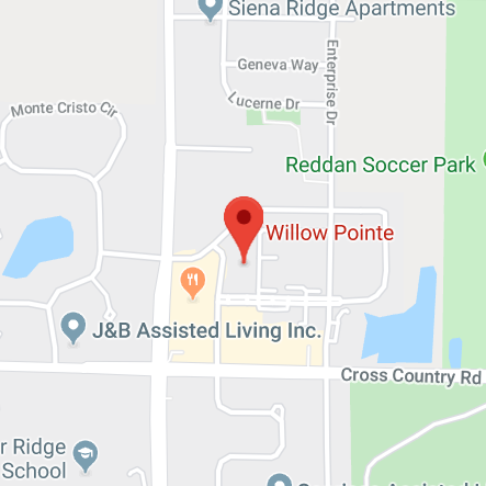 Willow Pointe Map