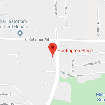 Huntington Map