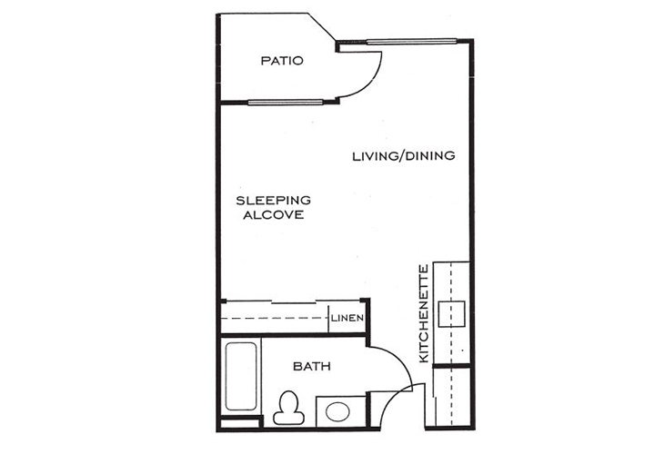 Ashwood Place Independent Living A1 Floor Plan