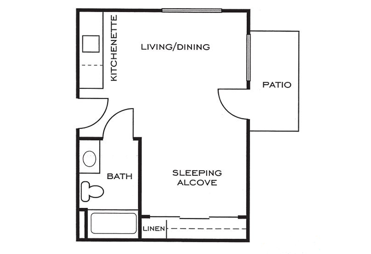 Ashwood Place Independent Living A3 Floor Plan