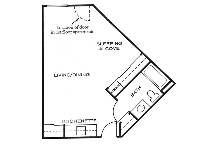 Ashwood Place Independent Living A5 Floor Plan