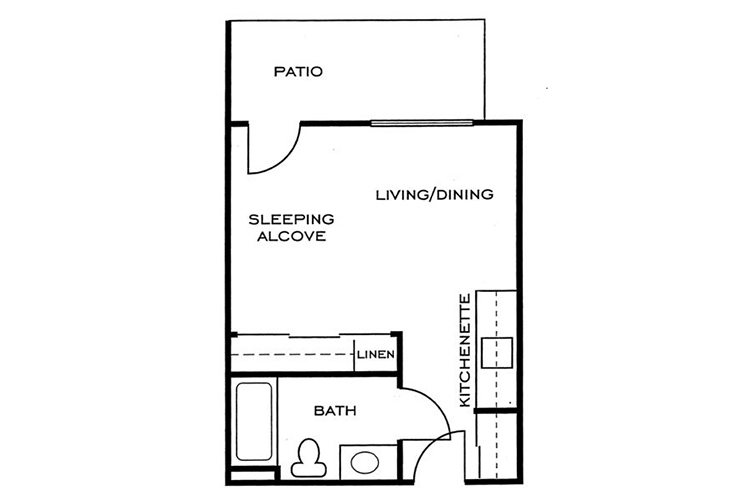 Ashwood Place Independent Living A7 Floor Plan