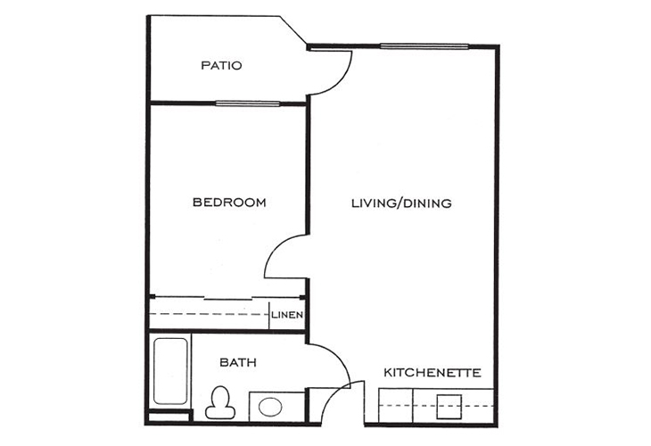 Ashwood Place Independent Living B1 Floor Plan