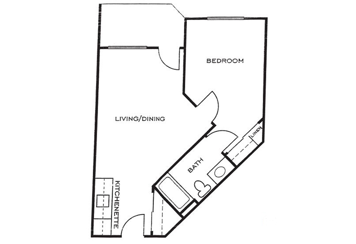 Ashwood Place Independent Living B3 Floor Plan