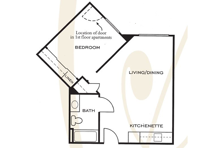 Ashwood Place Independent Living B4 Floor Plan