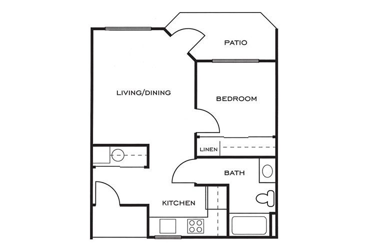 Ashwood Place Independent Living B9 Floor Plan
