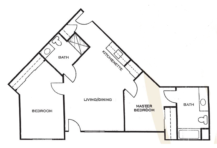 Ashwood Place Independent Living C1 Floor Plan