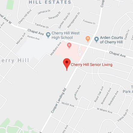 Map of Cherry Hill Senior Living