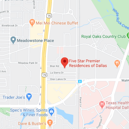 Five Star Premier Residences of Dallas Google Maps