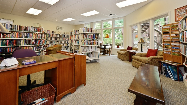 Meadowood - library