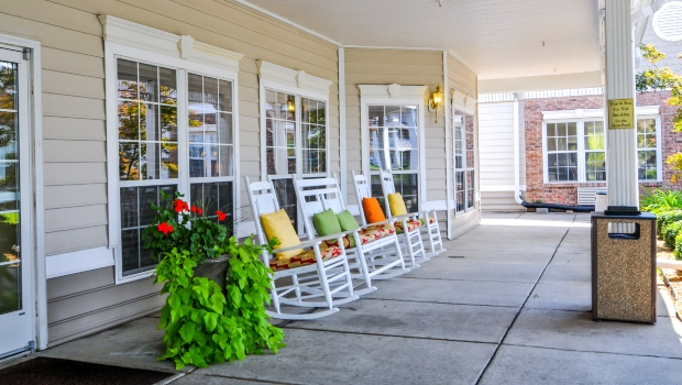 Paducah - porch