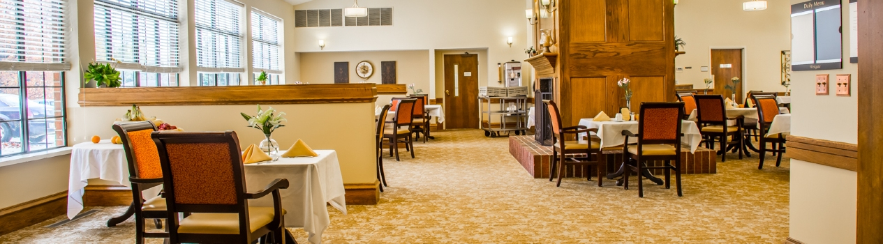 Westgate Assisted Living dining