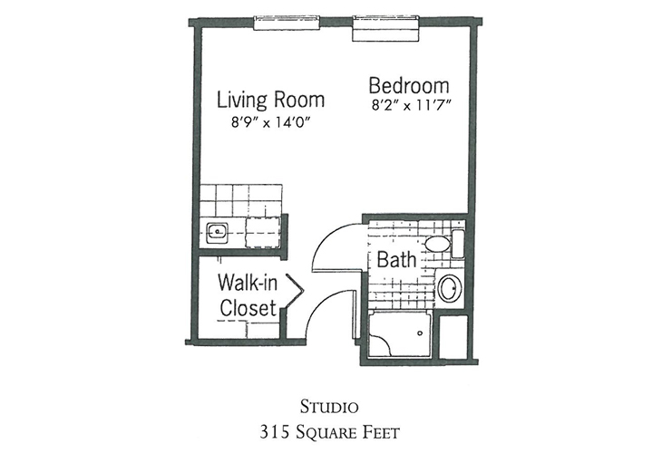 Crimson Pointe Assisted Living Foxworth Floor Plan