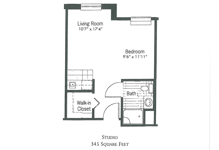 Crimson Pointe Assisted Living Guilford Floor Plan