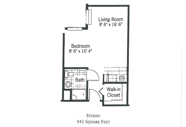Crimson Pointe Assisted Living Shorewood Floor Plan