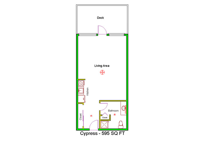 Granite Gate Assisted Living Cypress - Studio