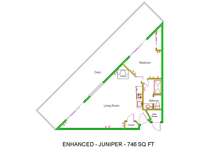 Granite Gate Memory Care Juniper - Deluxe 1 Bedroom