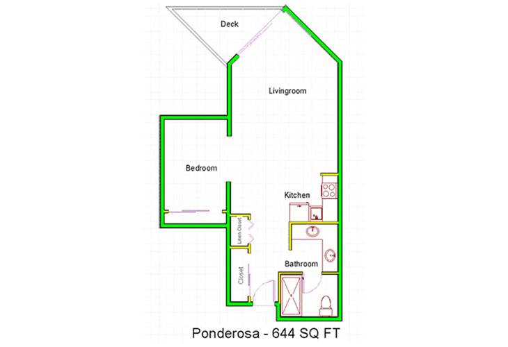 Granite Gate Assisted Living Ponderosa - 1 Bedroom