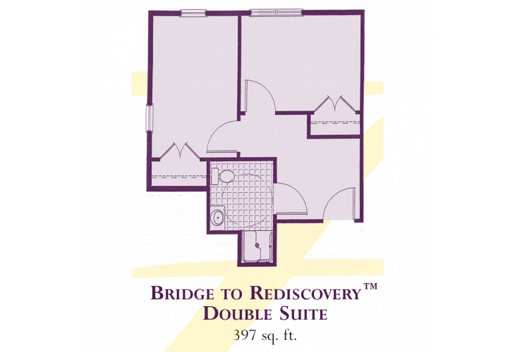 Heartfields Bowie Assisted Living Double Suite - Bridge to Rediscoverybowie