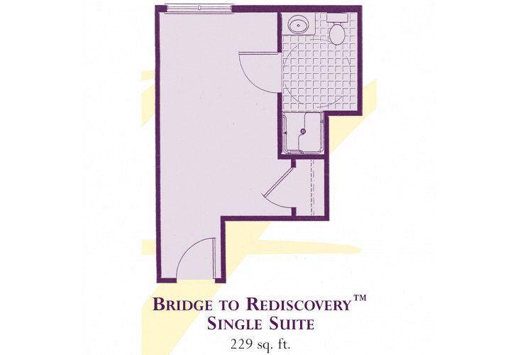 Heartfields Bowie Assisted Living Single Suite - Bridge to Rediscovery