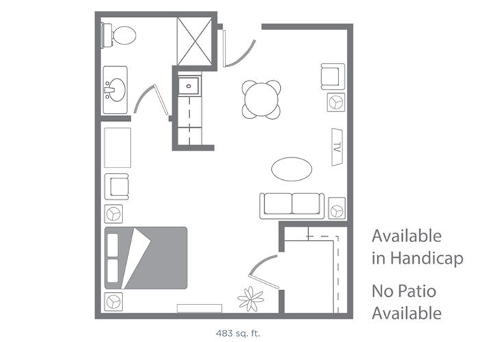 Morningside of Springdale Assisted Living Carlisle Floor Plan