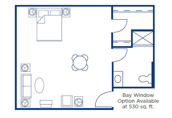Morningside of Springfield East Assisted Living Brookfield Floor Plan