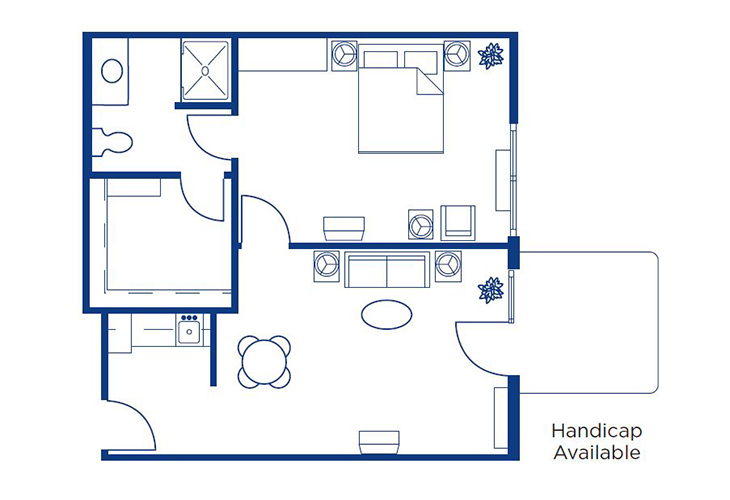 Morningside of Springfield East Assisted Living Washington Floor Plan