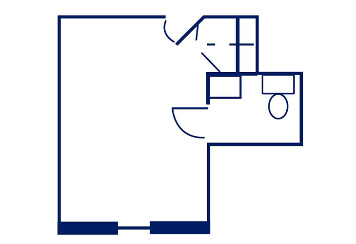 Mount Vernon of South Park Memory Care Semi-Private Floor Plan