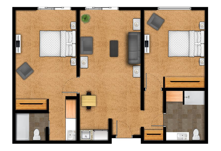 Overland Park Place Independent Living The Metcalf Floor Plans