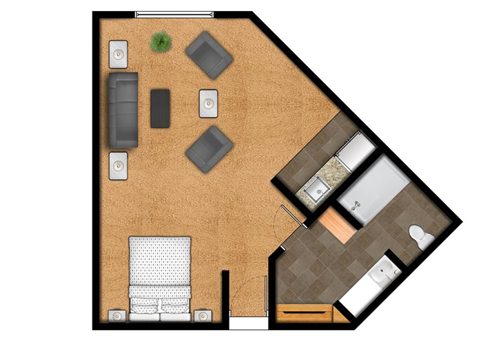 Overland Park Place Independent Living The Nall Floor Plans