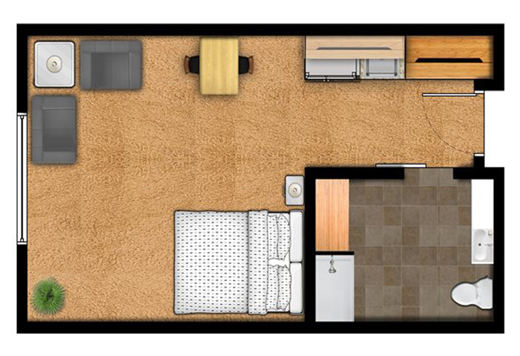 Overland Park Place Independent Living The Roe Floor Plans