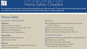 The Home Safety & Personal Wellness Checklist