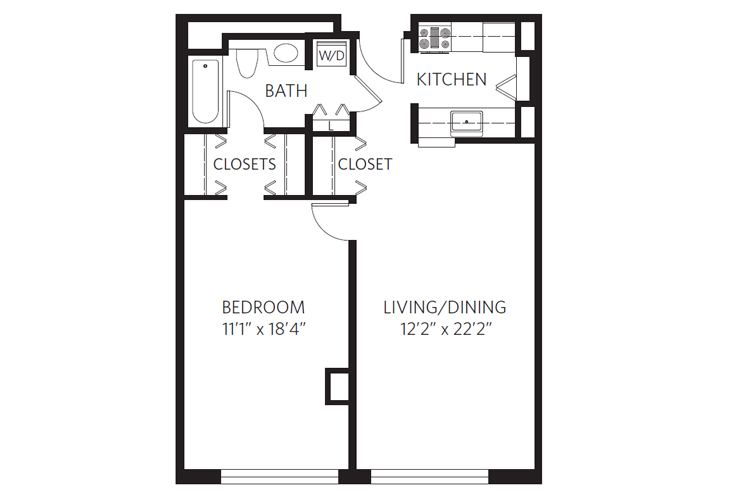 Chevy Chase Independent Living Grant Floor Plan