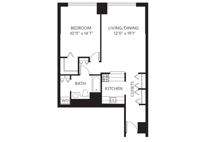 Chevy Chase Independent Living Truman Floor Plan