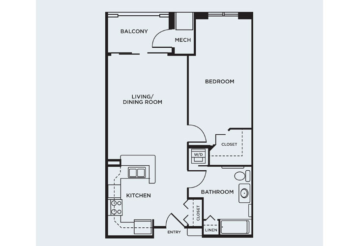 Coventry Village Memory Care Badger Floor Plan