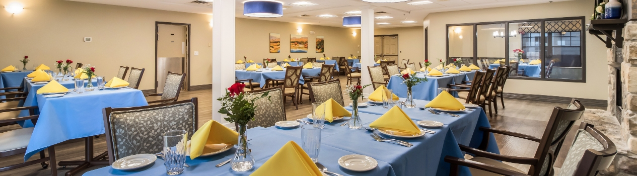 Fieldstone Place dining
