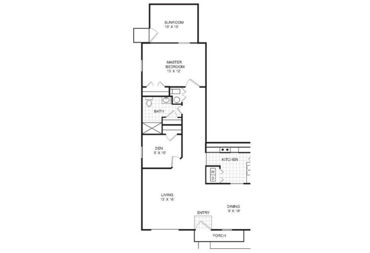 Lafayette Independent Living Dortmund Floor Plan