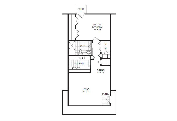 Lafayette Independent Living New Dawn Floor Plan
