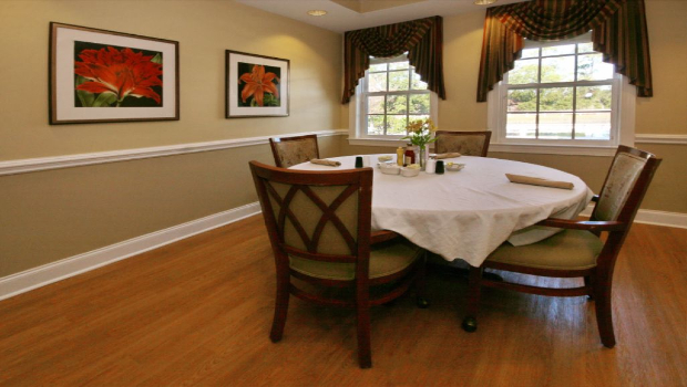 Share a meal or celebrate with loved ones in our private dining room