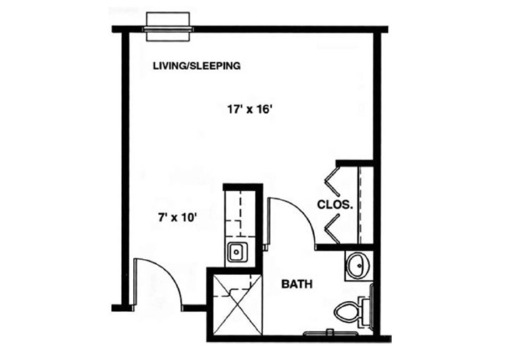 North Woods Independent Living The Madison Floor Plan