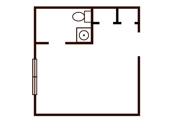 Seasons At Southpoint Memory Care Monarch Floor Plan