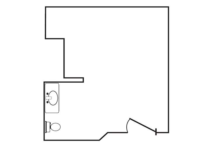 Somerford Place of Redlands Memory Care Studio Floor Plan