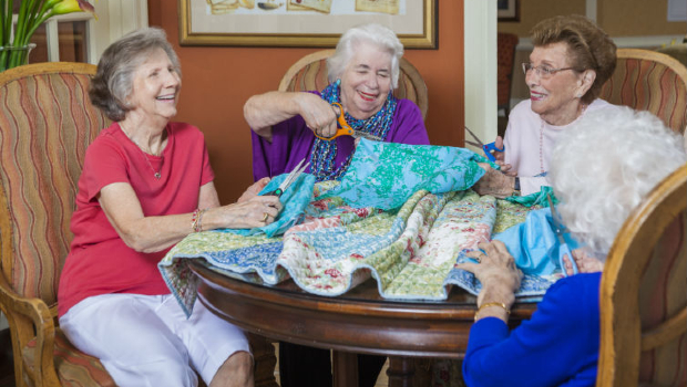 Stratford PAlm Harbor - quilting ladies