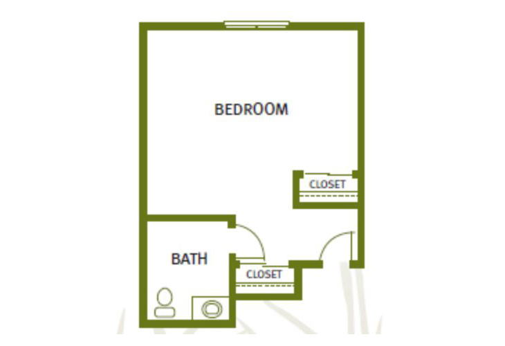 Sweetgrass Court Memory Care Suite C Floor Plan