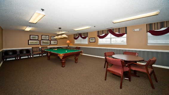 The Legacy of Anderson game room